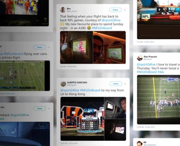 Inflight & Onboard Live Sports TV | Sport24